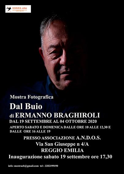 Mostra fotografica di Ermanno Braghiroli – Dal Buio